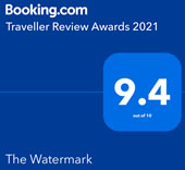 Booking.com Traveller Review Awards 2021 9.4 out of 10