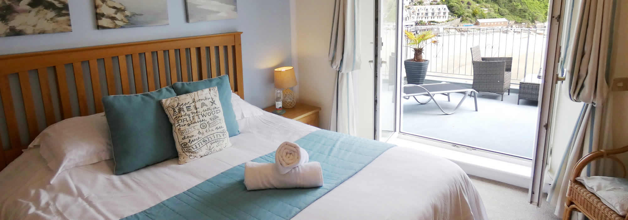 Quality holiday accommodation at The Watermark in Looe, Cornwall